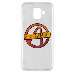 Чехол для Samsung A6 2018 Borderlands logotype