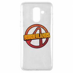 Чехол для Samsung A6+ 2018 Borderlands logotype