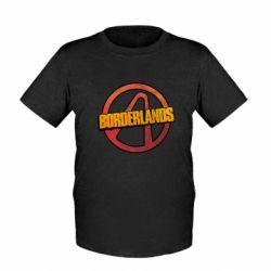 Детская футболка Borderlands logotype