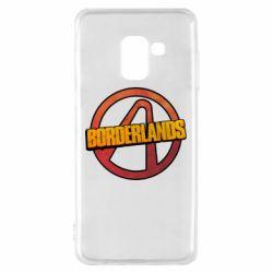 Чехол для Samsung A8 2018 Borderlands logotype