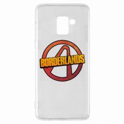 Чехол для Samsung A8+ 2018 Borderlands logotype