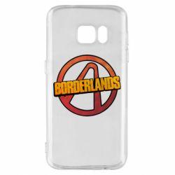 Чехол для Samsung S7 Borderlands logotype