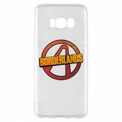 Чехол для Samsung S8 Borderlands logotype