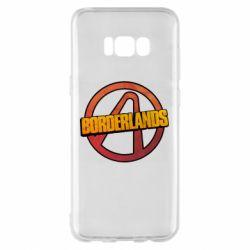 Чехол для Samsung S8+ Borderlands logotype