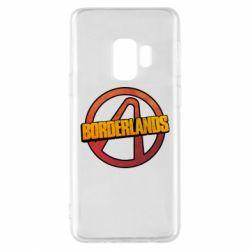Чехол для Samsung S9 Borderlands logotype