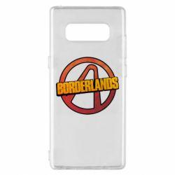 Чехол для Samsung Note 8 Borderlands logotype