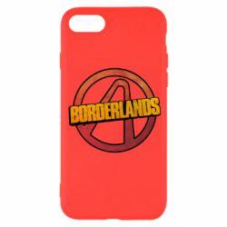 Чехол для iPhone 8 Borderlands logotype