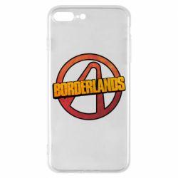 Чехол для iPhone 8 Plus Borderlands logotype