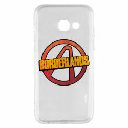 Чехол для Samsung A3 2017 Borderlands logotype