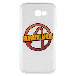 Чехол для Samsung A7 2017 Borderlands logotype