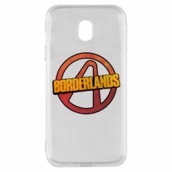 Чехол для Samsung J3 2017 Borderlands logotype