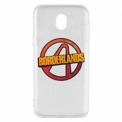 Чехол для Samsung J5 2017 Borderlands logotype
