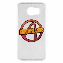 Чехол для Samsung S6 Borderlands logotype