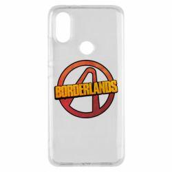 Чехол для Xiaomi Mi A2 Borderlands logotype