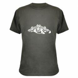 Камуфляжна футболка Borderlands man