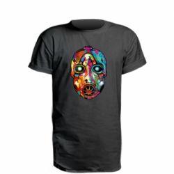 Удлиненная футболка Borderlands mask in paint