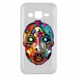 Чехол для Samsung J2 2015 Borderlands mask in paint