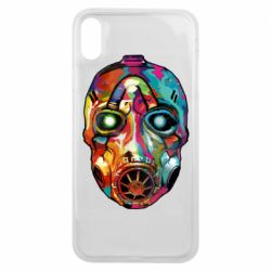 Чехол для iPhone Xs Max Borderlands mask in paint