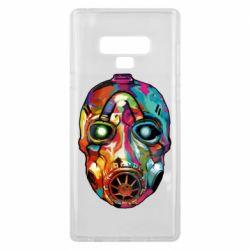 Чехол для Samsung Note 9 Borderlands mask in paint