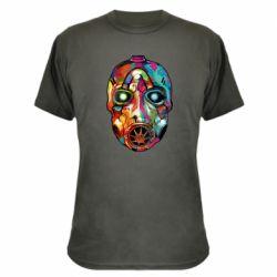 Камуфляжная футболка Borderlands mask in paint