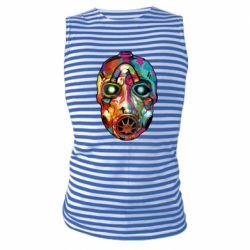 Майка-тельняшка Borderlands mask in paint