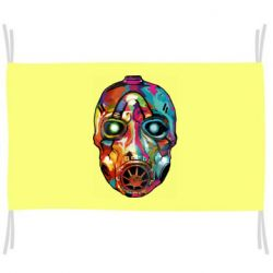 Флаг Borderlands mask in paint