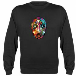 Реглан (свитшот) Borderlands mask in paint