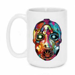 Кружка 420ml Borderlands mask in paint