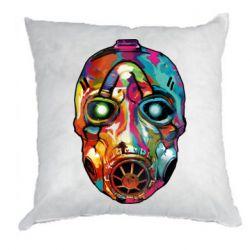 Подушка Borderlands mask in paint
