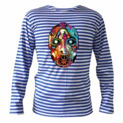 Тельняшка с длинным рукавом Borderlands mask in paint