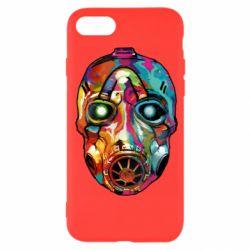 Чехол для iPhone 7 Borderlands mask in paint