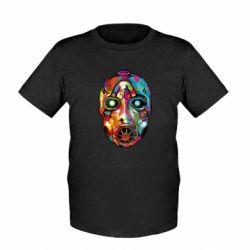 Детская футболка Borderlands mask in paint