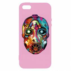 Чехол для iPhone5/5S/SE Borderlands mask in paint