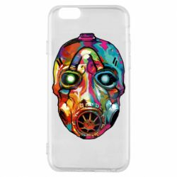 Чехол для iPhone 6/6S Borderlands mask in paint