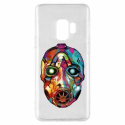 Чехол для Samsung S9 Borderlands mask in paint