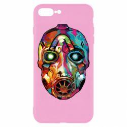 Чехол для iPhone 8 Plus Borderlands mask in paint