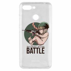 Чехол для Xiaomi Redmi 6 Born For Battle