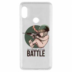 Чехол для Xiaomi Redmi Note 5 Born For Battle