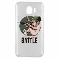 Чехол для Samsung J4 Born For Battle