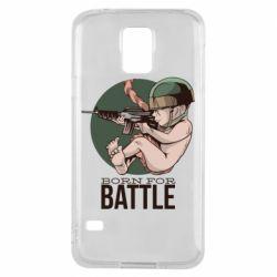 Чехол для Samsung S5 Born For Battle