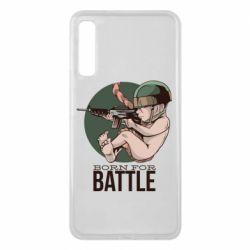 Чехол для Samsung A7 2018 Born For Battle