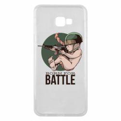 Чехол для Samsung J4 Plus 2018 Born For Battle