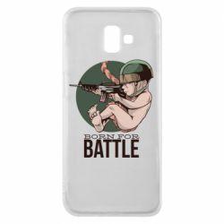 Чехол для Samsung J6 Plus 2018 Born For Battle