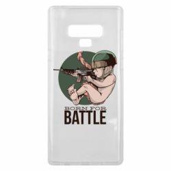 Чехол для Samsung Note 9 Born For Battle