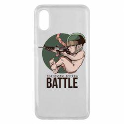Чехол для Xiaomi Mi8 Pro Born For Battle