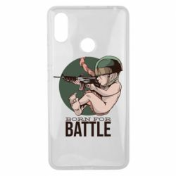 Чехол для Xiaomi Mi Max 3 Born For Battle