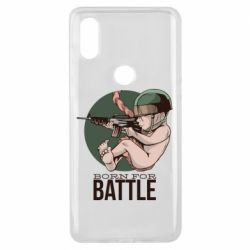 Чехол для Xiaomi Mi Mix 3 Born For Battle