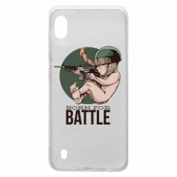 Чехол для Samsung A10 Born For Battle