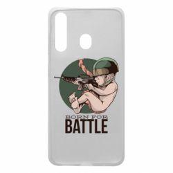 Чехол для Samsung A60 Born For Battle