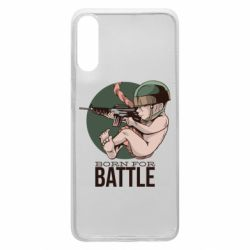 Чехол для Samsung A70 Born For Battle